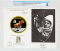 """Explorers:Space Exploration, Philatelia: Apollo 11 """"Houston, Tranquility Base Here. The Eagle Has Landed."""" First Day Canceled Souvenir Card Directly From T..."""