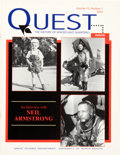 Explorers:Space Exploration, Armstrong Family Personal: Volume 10, Number 1 Quest - The History of Spaceflight Quarterly With a Long Neil Armst...