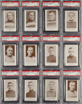 Hockey Cards:Lots, 1923 V145-1 William Patterson PSA-Graded Collection (12). ...