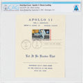 "Explorers:Space Exploration, Philatelia: Apollo 11 ""First Man On The Moon"" First Day Cover Directly From The Armstrong Family Collection™, CAG Certified...."