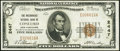 Concord, NH - $5 1929 Ty. 1 The Mechanicks National Bank Ch. # 2447 Very Fine+