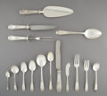 Silver & Vertu, A One Hundred and Twenty-Six-Piece Whiting Mfg. Co. Mandarin Pattern Silver Partial Flatware Service for Twelve,... (Total: 126 )