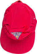 Explorers:Space Exploration, Boy Scouts: Neil Armstrong's Personal 13th World Jamboree Cap Directly From The Armstrong Family Collection™, CAG Certified....