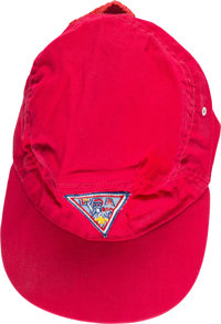 Boy Scouts: Neil Armstrong's Personal 13th World Jamboree Cap Directly From The Armstrong Family Collection™, CAG Certif...