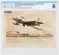 Explorers:Space Exploration, Navy: Photograph of Lockheed TO-1 Shooting Star Taking Off With JATO Assist Directly From the Armstrong Family Collection, CAG...