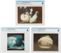 Explorers:Space Exploration, Apollo 11: Three Screen Capture Photographs of the Apollo 11 Mission Directly From The Armstrong Family Collection™, CAG Certi...