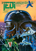 """Movie Posters:Science Fiction, Return of the Jedi (Mokép, 1984). Rolled, Near Mint-. Hungarian A2 (15.75"""" X 22"""") Full Color Style, Tibor Helenyi Artwork.. ..."""