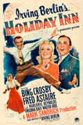 "Movie Posters:Musical, Holiday Inn (Paramount, 1942). Fine/Very Fine on Linen. One Sheet (27"" X 41"").. ..."