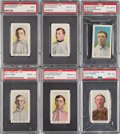 Baseball Cards:Lots, 1910-11 M116 Sporting Life Baseball High Grade Graded Collection (26)....