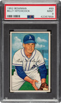Baseball Cards:Singles (1950-1959), 1952 Bowman Billy Hitchcock #89 PSA Mint 9 - None Higher....