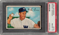 Baseball Cards:Singles (1950-1959), 1952 Bowman Mickey Grasso #174 PSA NM-MT 8....