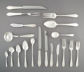 Silver & Vertu, A One Hundred and Thirty-Nine-Piece Tiffany & Co. Faneuil Pattern Silver Partial Flatware Service for Twelve, Ne... (Total: 144 Items)