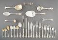 Silver & Vertu, A Two Hundred Fifty-Seven-Piece Reed & Barton Les Cinq Fleurs Pattern Silver Partial Flatware Service for Twelve I... (Total: 245 )