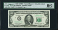 Low Serial Number 4876 Fr. 2163-D* $100 1963A Federal Reserve Star Note. PMG Gem Uncirculated 66 EPQ