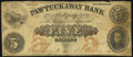 Obsoletes By State:New Hampshire, Epping, NH- Pawtuckaway Bank $5 Apr. 2, 1855 Very Good.. ...