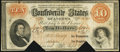 Confederate Notes:1861 Issues, T24 $10 1861 PF-11 Cr. 164 Very Fine.. ...