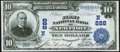 National Bank Notes:New Hampshire, Newport, NH - $10 1902 Date Back Fr. 616 The First National Bank Ch. # (N)888 Very Fine-Extremely Fine.. ...