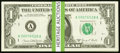 Small Size:Federal Reserve Notes, Complete Regular Block Set Fr. 1907-A-L $1 1969D Federal Reserve Notes. . ... (Total: 35 notes)