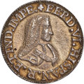 """Mexico, Mexico: Ferdinand VI cast silver """"University of Mexico"""" Proclamation Medal ND (1747) UNC (Scratches on Rim),..."""