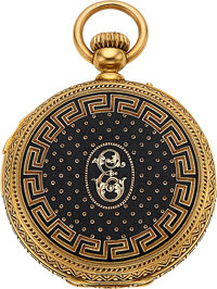 Breguet Paris, Important & Rare Small Quarter Repeater, Gold & Enamel Case, Sold 27 September 1861, With...