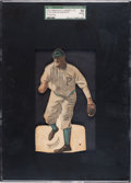 Baseball Cards:Singles (Pre-1930), 1910 E125 American Caramel Honus Wagner (Throwing) SGC 50 VG/EX 4 - The Finest Example Known! ...