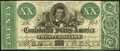 Confederate Notes:1861 Issues, T21 $20 1861 Fine-Very Fine.. ...