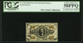 Fractional Currency:Third Issue, A.U. Wyman Courtesy Autograph Fr. 1255 10¢ Third Issue PCGS Choice About New 58PPQ.. ...