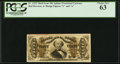Fractional Currency:Third Issue, Fr. 1325 50¢ Third Issue Spinner PCGS Choice New 63.. ...
