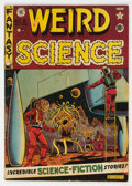 Golden Age (1938-1955):Science Fiction, Weird Science #8 (EC, 1951) Condition: VG-....