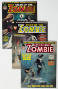 Magazines:Horror, Tales of the Zombie/Tomb of Dracula Magazine Group of 16 (Marvel, 1973-80).... (Total: 16 Comic Books)