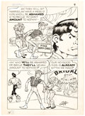 Original Comic Art:Panel Pages, Al Capp and Frank Frazetta Li'l Abner and the Creatures from Drop-Outer Space (#nn) Page 9 Original Art (United Fe...