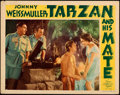"Movie Posters:Adventure, Tarzan and His Mate (MGM, 1934). Very Fine-. Lobby Card (11"" X 14""). . ..."