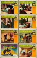 "Movie Posters:Science Fiction, The Wasp Woman (Warner Bros., 1959). Very Fine-. Lobby Card Set of 8 (11"" X 14"").. ... (Total: 8 Items)"