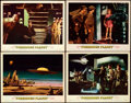 """Movie Posters:Science Fiction, Forbidden Planet (MGM, 1956). Very Fine-. Lobby Cards (4) (11"""" X 14"""").. ... (Total: 4 Items)"""