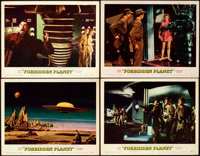 "Forbidden Planet (MGM, 1956). Very Fine-. Lobby Cards (4) (11"" X 14""). ... (Total: 4 Items)"