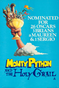 """Monty Python and the Holy Grail (EMI, 1975). Folded, Very Fine+. British Double Crown (20"""" X 30""""), British Fro..."""