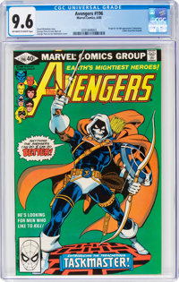 The Avengers #196 (Marvel, 1980) CGC NM+ 9.6 Off-white to white pages