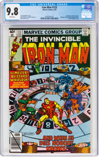 Iron Man #123 (Marvel, 1979) CGC NM/MT 9.8 White pages