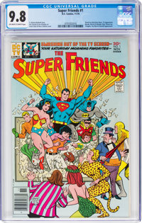 Super Friends #1 (DC, 1976) CGC NM/MT 9.8 Off-white to white pages