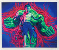 Fine Art - Work on Paper:Print, Ron English (b. 1959). Hulk Boy, 2007. Digital print in colors on wove paper. 20 x 20 inches (50.8 x 50.8 cm) (sheet). E...