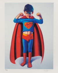 Ron English (b. 1959) Super Boy, c. 2007 Digital print in colors on wove paper 20 x 20 inches (50