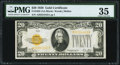 Fr. 2402 $20 1928 Gold Certificate. PMG Choice Very Fine 35