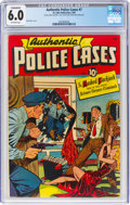 Golden Age (1938-1955):Crime, Authentic Police Cases #7 (St. John, 1950) CGC Conserved FN 6.0 Off-white pages....