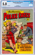 Golden Age (1938-1955):Crime, Authentic Police Cases #8 (St. John, 1950) CGC VG/FN 5.0 Cream to off-white pages....