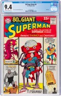 Silver Age (1956-1969):Superhero, 80 Page Giant #6 Superman (DC, 1965) CGC NM 9.4 Off-white to white pages....