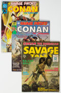 Magazines:Adventure, Savage Sword of Conan Group of 14 (Marvel, 1971-80) Condition: Average VF.... (Total: 14 Comic Books)
