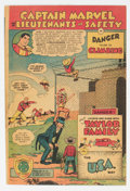 Golden Age (1938-1955):Miscellaneous, Captain Marvel and the Lieutenants of Safety #1 (Fawcett Publications, 1950) Condition: VG/FN....