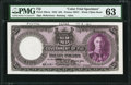 World Currency, Fiji Government of Fiji 20 Pounds 1.7.1943 Pick 43cts Color Trial Specimen PMG Choice Uncirculated 63.. ...