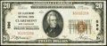 Claremont, NH - $20 1929 Ty. 1 The Claremont National Bank Ch. # 596 Very Fine