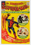 Silver Age (1956-1969):Superhero, The Amazing Spider-Man #8 (Marvel, 1964) Condition: VG/FN....